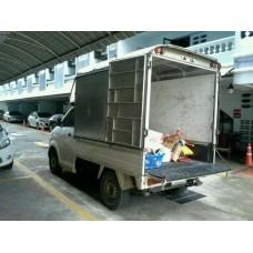 รถรับจ้าง ขนของกรุงเทพฯ กันฝน ทำเป็นอาชีพ